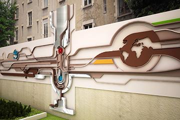 migo, linear vibes, space design, industrial, ARaymond France