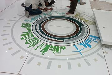 migo, linear vibes, space design, industrial, Johnson Control