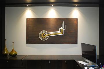 migo, linear vibes, space design, industrial, Corporate Office