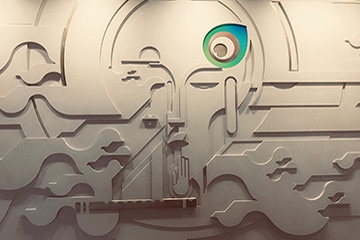 migo, linear vibes, space design, industrial, Sarada